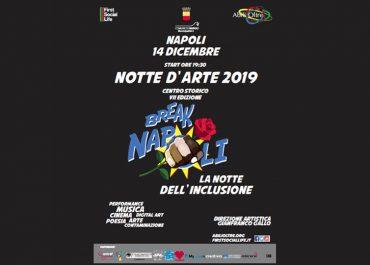 NOTTE D'ARTE 2019 <br> NAPOLI